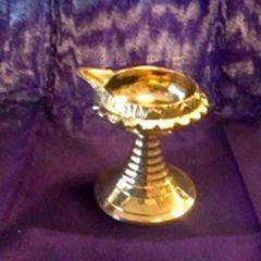 Brass diya- small