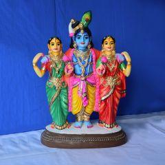 Rukmani Sathyabama samtha Venugopalaswamy idol - Small