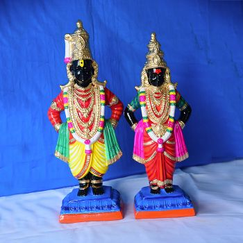 Pandurangan Rahumaayi clay doll - Small