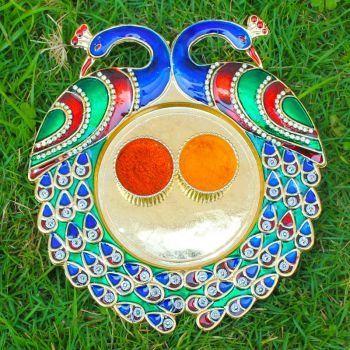 peacock kumkum