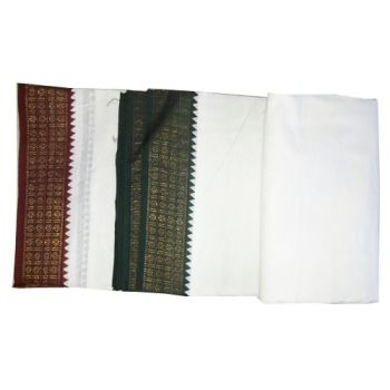 White Cotton Dhoti