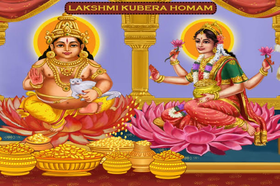 Procedure and benefits of Lakshmi Kubera Homam
